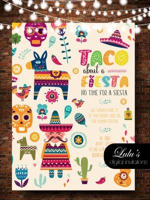 mexican 1 invitation