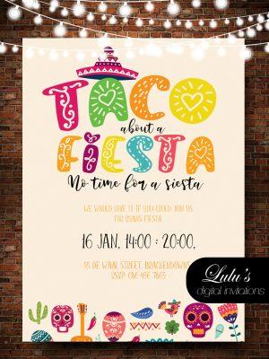 mexican 2 invitation