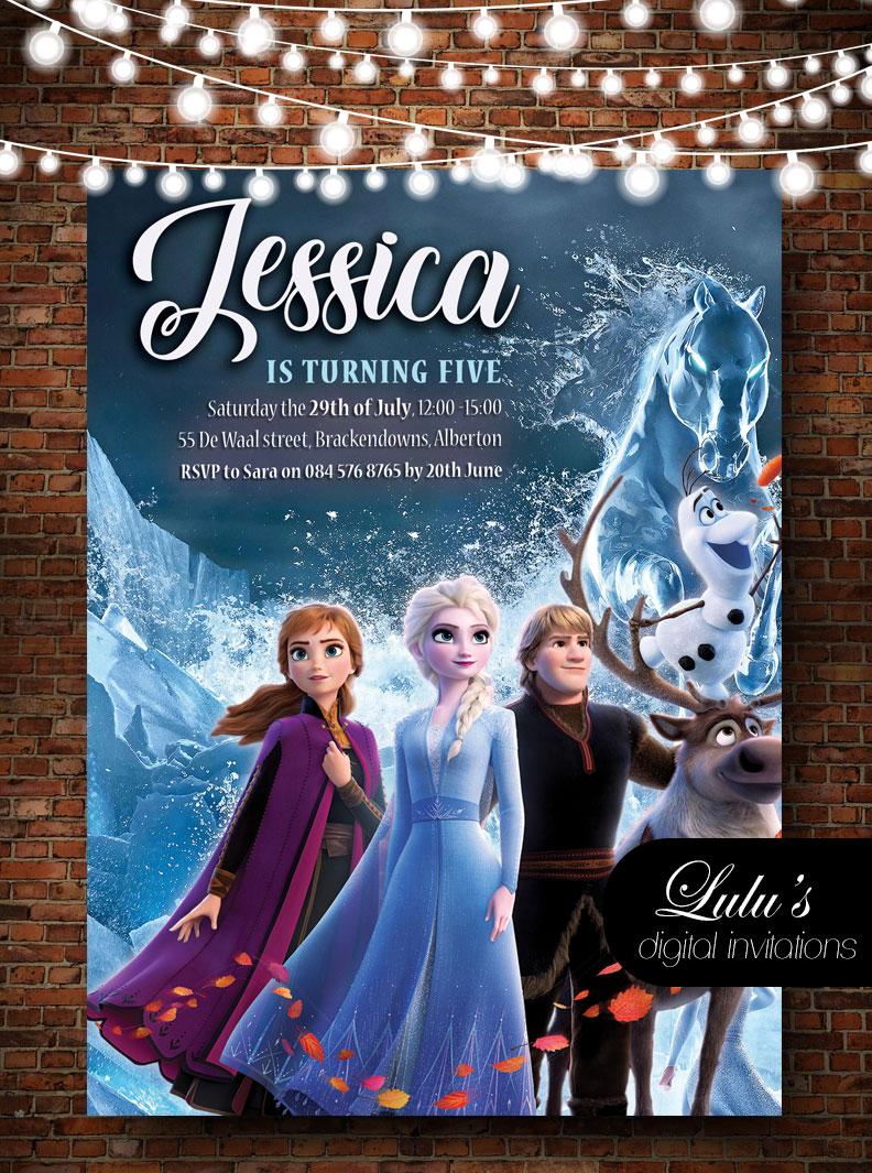 Frozen Two Invitation